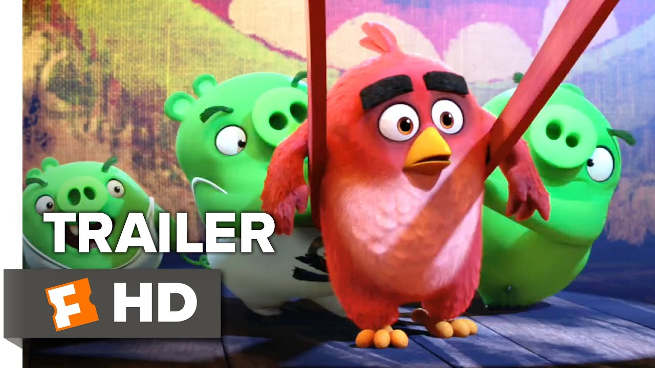Download The Angry Birds Movie Official Trailer #1 (2016) - Peter Dinklage, Bill Hader Movie HD