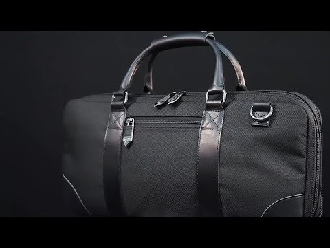 """dalstrong-compact-15-knife-pocket-knife-roll-bag---""""the-gaston""""-(charcoal-black)"""