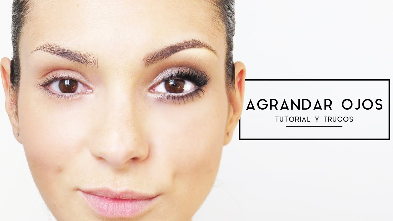 maquillaje natural para ojos marrones