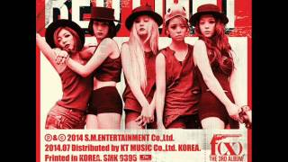 f(x) - 나비 (Butterfly) [Official Instrumental]