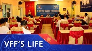 LĐBĐVN tổ chức Hội thảo hệ thống quản lý tổ chức thi đấu (CMS)   VFF Channel