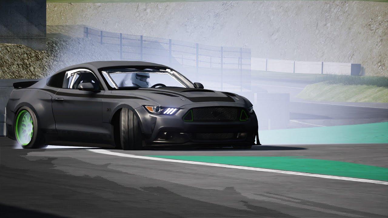Vaughn Gittin Jr Mustang Rtr Assetto Corsa Drifting Link