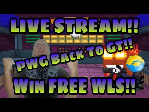 Growtopia | PWG Back To GT!! Win FREE WLS!! World Name LiveD