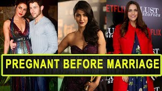 10 Bollywood Actress Who Got Pregnant Before Marriage