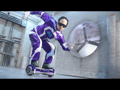 Amazing HowerBoard robot dance | Потрясающий танец на гироскутере