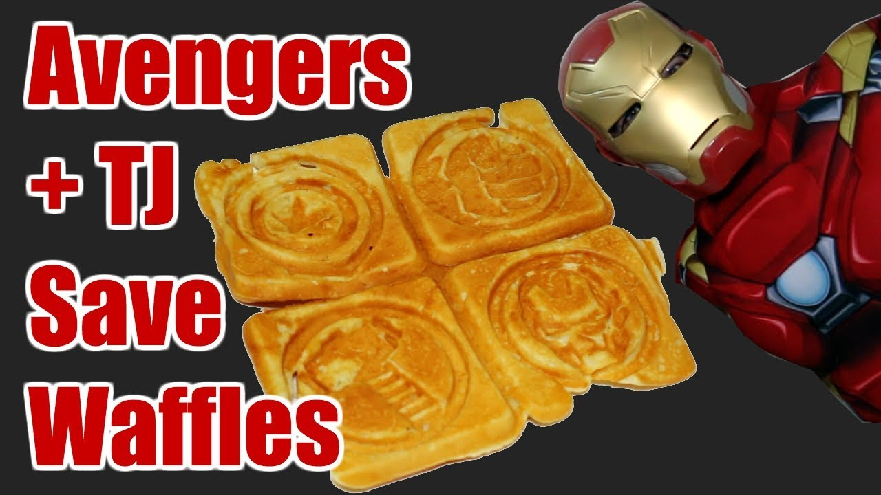 avenger waffle maker review thor hulk iron man captain america