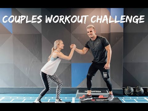 COUPLES WORKOUT CHALLENGE | Fitness Routine With Josie | Charlie Irons