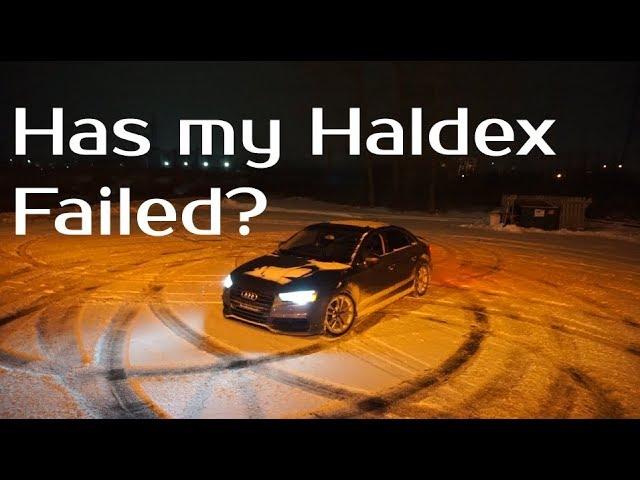 Audi Haldex Quattro Slow Motion