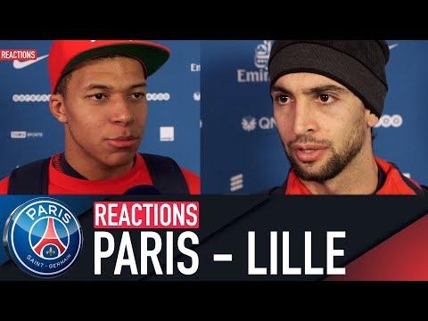 REACTIONS : PARIS SAINT-GERMAIN 3 - 1 LILLE