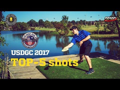 Top-5 shots of US Disc Golf Championship 2017