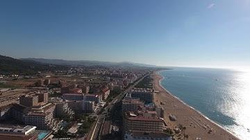 Santa Susanna Barcelona Sonne Strand beach und Meer Jaaaaaa