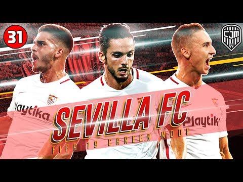 FIFA 19 Sevilla Career Mode: Sevilla vs Barça, Siapa Yang Lolos Ke Final UEFA Europa League?! #31