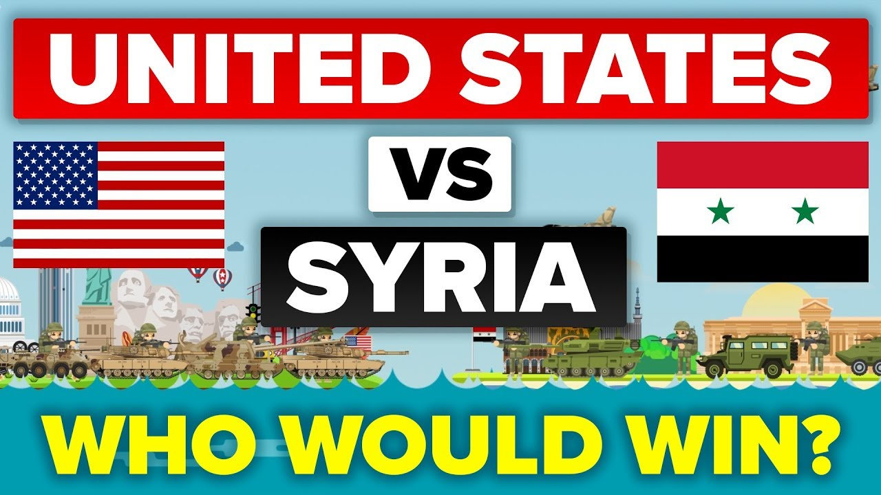 USA vs Syria - How Do They Compare? Military Comparison