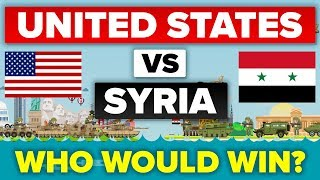 USA vs Syria - How Do They Compare? Military Comparison