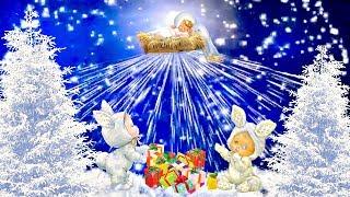 Рождественские Песни Для Детей, Детские песни  про Рождество Колокольчики звенят  Бим - бом