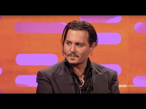 Why Johnny Depp Visits Children's Hospitals as Jack Sparrow - The Graham Norton Show