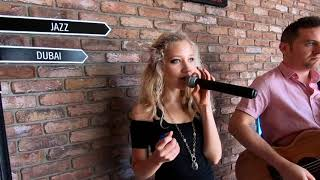 The Way You Make Me Feel - Michael Jackson cover (loop station duo)