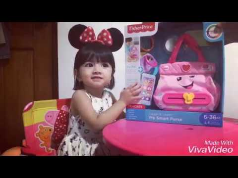 Fisher Price My Smart Purse Unboxing