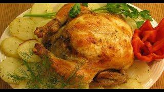 Лимонная курица в духовке - просто пальчики оближешь