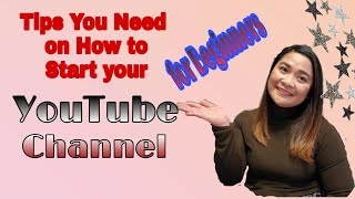 HOW TO START YOUTUBE CHANNEL. TIPS FOR BEGINNERS LIKE ME! VLOG #1