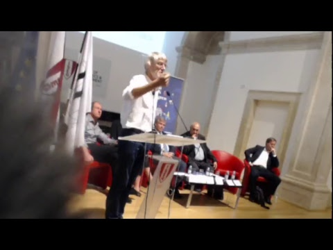 2017 Basic Income Earth Network Congress at Lisbon, Portugal (Day 2 AM Plenary)
