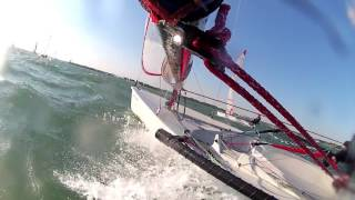 Blaze sailing at Warsash