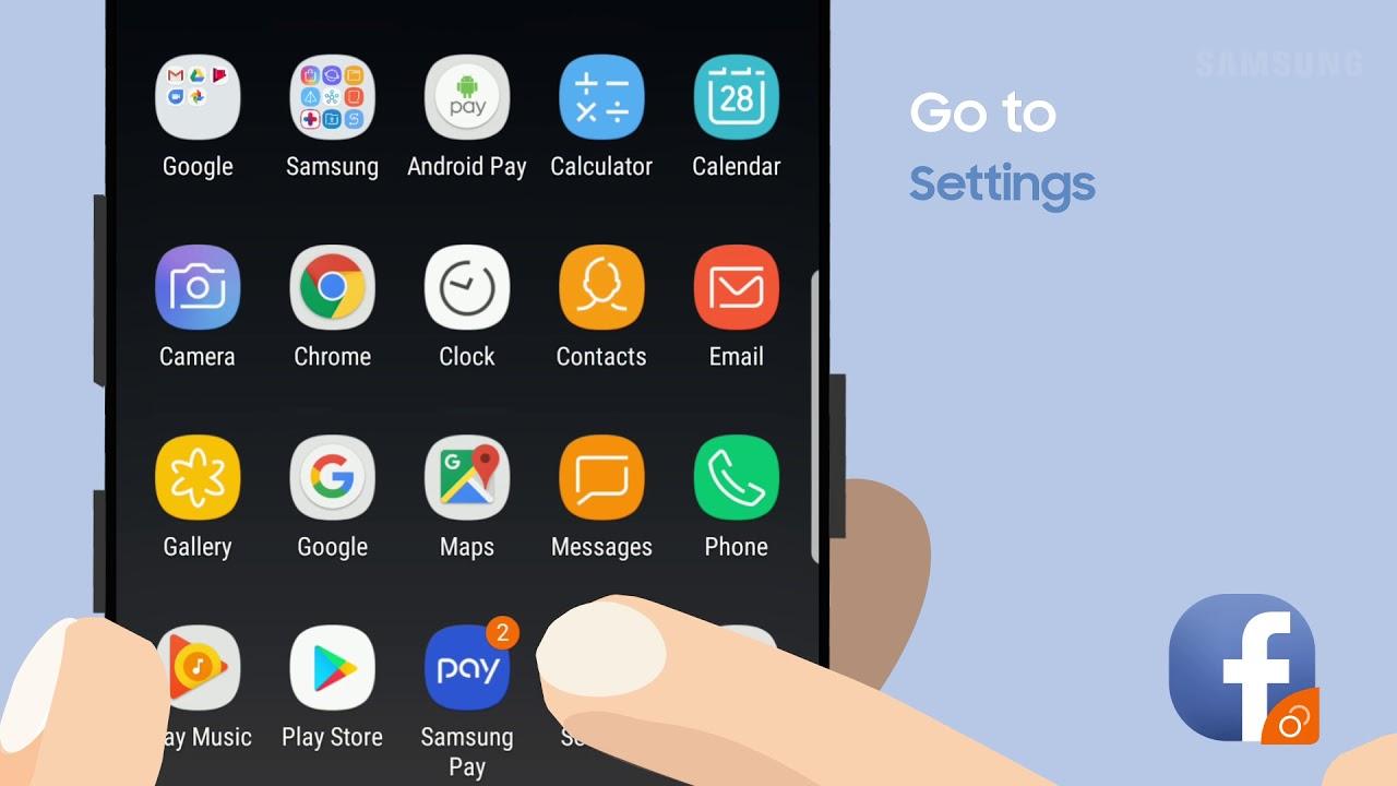 SAMSUNG S9 DUAL MESSENGER
