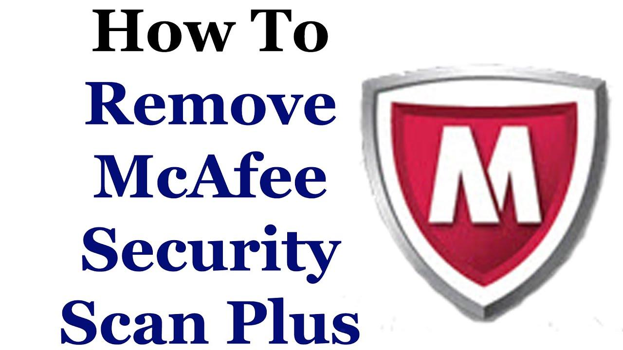 Entérate como Desinstalar Mcafee security scan plus, de manera expedita