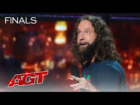 Josh Blue Makes The Judges LAUGH With Hilarious Stand-Up Comedy - America's Got Talent 2021