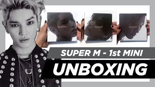 Gambar cover ✨[UNBOXING] SuperM 1st Mini Album ~ Taeyong, Ten, Taemin & United versions! ✨