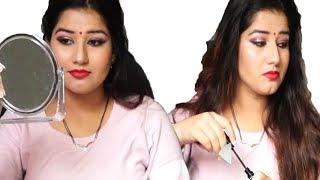 घर पर मेकअप कैसे करे सीखिए स्टेप बाय स्टेप | makeup for festivals