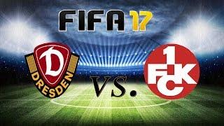 DYNAMO DRESDEN VS. 1.FC KAISERSLAUTERN [2.BUNDESLIGA] [23.SPIELTAG] 3.3.2017  FIFA 17 