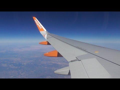 Easyjet Airbus A320-214 | Valencia To London Luton *FULL FLIGHT*