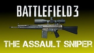 BF3 -The Assault Sniper: Taming the Wild Stallion [BF3 G3A3 PC Gameplay]