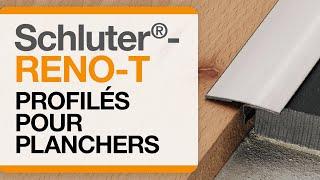 Comment installer le profilé de plancher : Schluter®-RENO-T