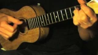 Ukulele Fingerpicking Blues Lesson - Free TAB -  Winin