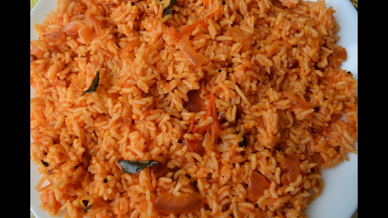 Simple And Easy Tomato Rice