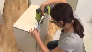 Drawer runners installation | kaboodle kitchen