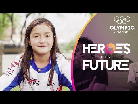 Colombia's 8-year-old BMX World Champion Hoping to follow Mariana Pajon | Heroes of the Future
