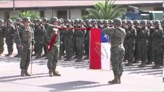Ejército de Chile. juramento a la bandera 2013