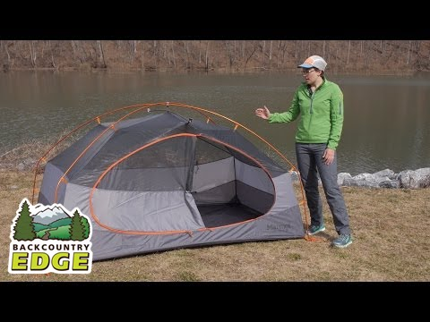 Marmot Limelight 2P Backpacking Tent & Marmot Limelight 2P Backpacking Tent - YouTube