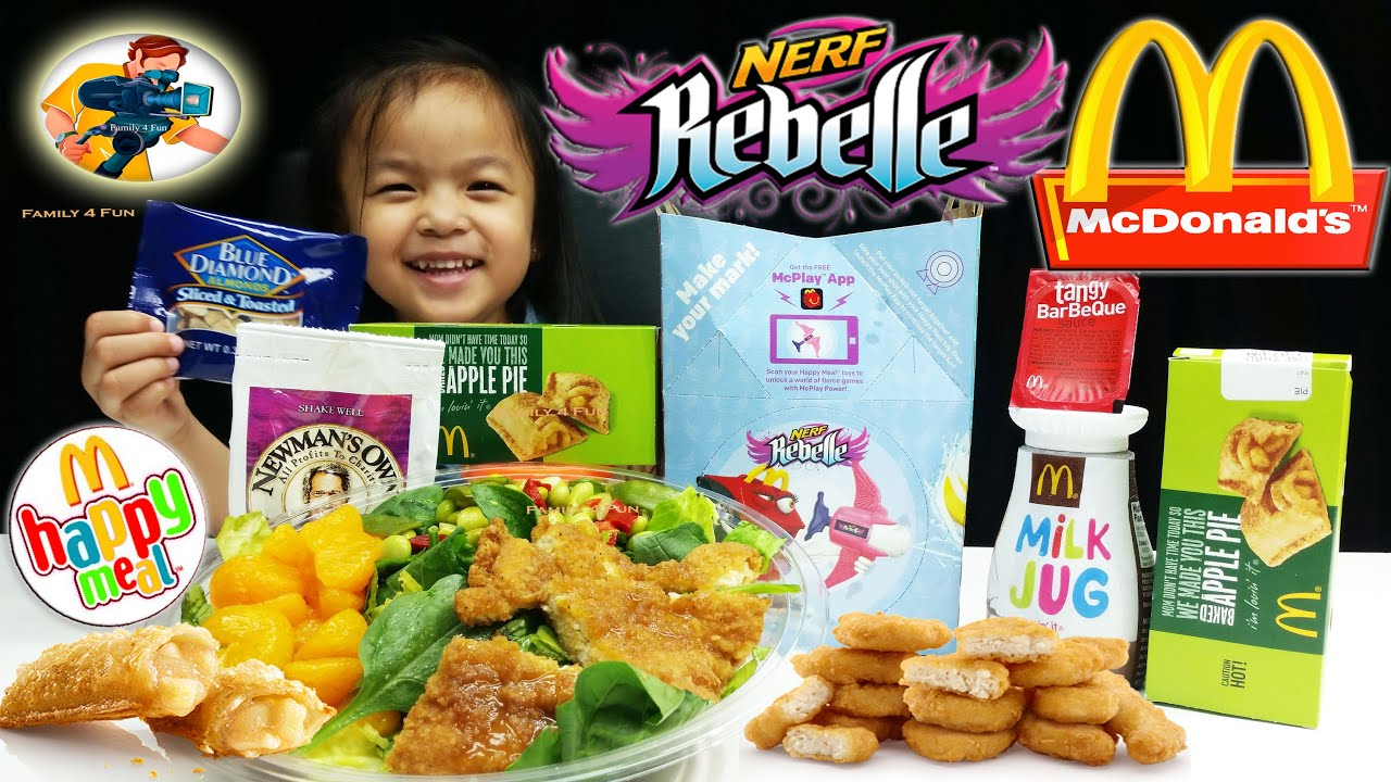 Has McDonald's offered kids' games in meals?