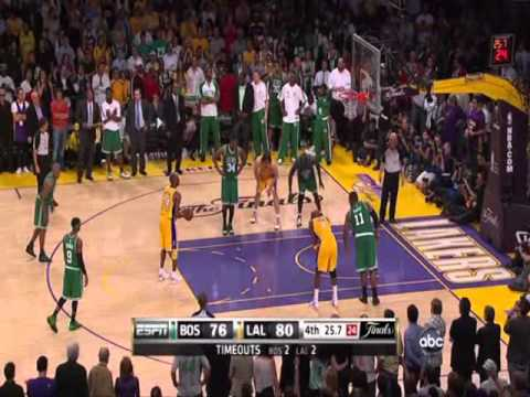 Game 7 2010-Down 13..Lakers Celtics NBA Finals (no Copyright intended- Footage owned by ABC and NBA)