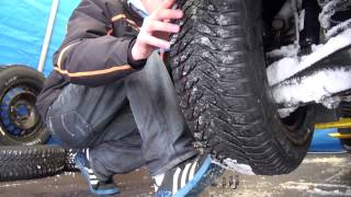 Prezentace pneumatiky Ultra Grip 9