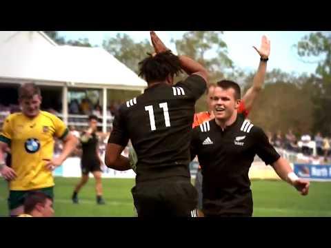 New Zealand Schoolboys 2017 Monster Backline - Insane Performance vs Australia Schoolboys