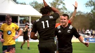 New Zealand Schoolboys 2017 Monster Backline - Insane Performance vs Australia Schoolboys