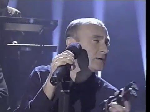 Phil Collins on Vanessa Williams Christmas Special (1996) - YouTube