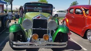 1929 Willys Knight - Lowrider -Amigos Car Club - San Diego California