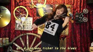One way Ticket - Electric violinist Jo A Ram