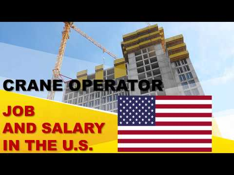 Crane Operator Salary In The United States - Jobs And Wages In The United States